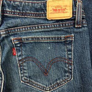 Levi's 518 Superlow Bootcut Jeans Juniors Size 7